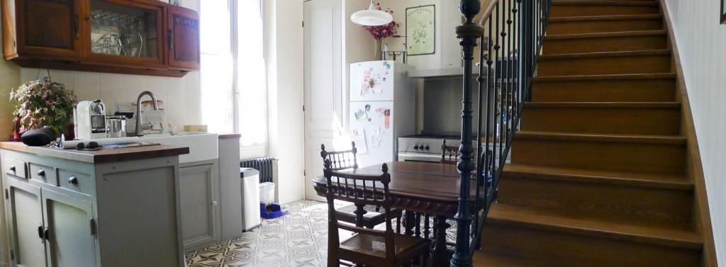 Rénovation d'une maison des années 1920 (Lyon)