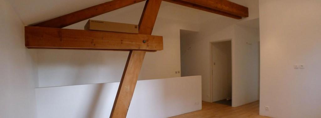 Rénovation intégrale sur 3 niveaux (Caluire)
