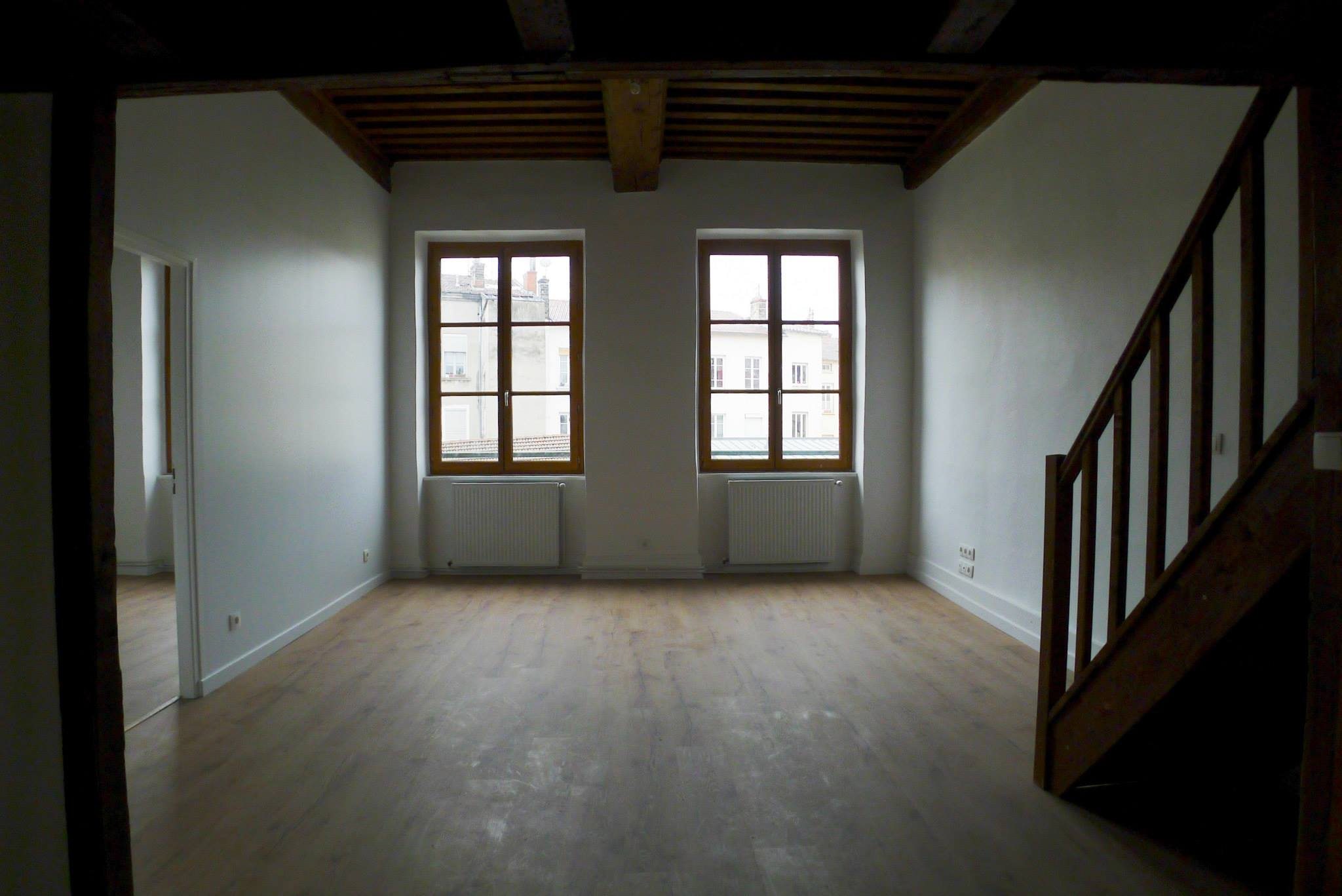 appartement canut croix rousse ecoconfiance r novation. Black Bedroom Furniture Sets. Home Design Ideas
